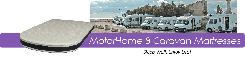 motorhome and caravan mattresses custom made